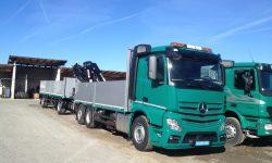 Baustofftransporte